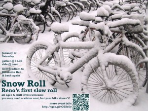 Snow Roll flier