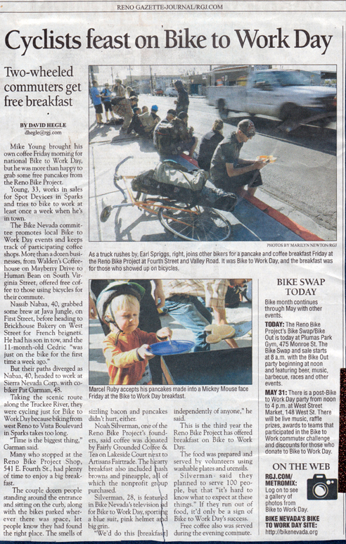 Reno Bike Project - Community Bicycle Shop in the Media